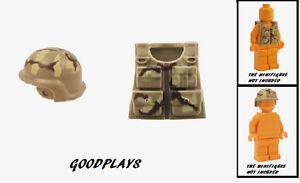 Części i akcesoria do zabawek konstrukcyjnych Zabawki konstrukcyjne Minifig Multicam CAMO Soldier Griffin