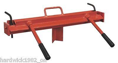 SHEET METAL FOLDER * VICE MOUNTING * 600mm  (22 GAUGE STEEL)