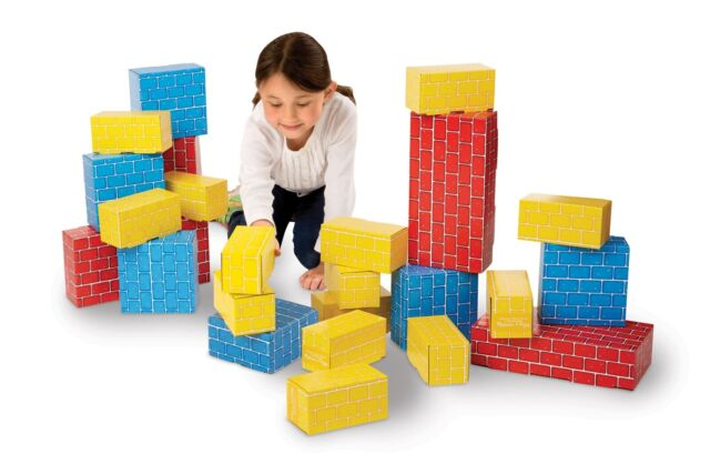 40pcs Extra-thick Jumbo Giant Building Kids PLAY Cardboard Building Block