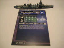 AXIS & ALLIES WAR AT SEA USS Salt Lake City x1