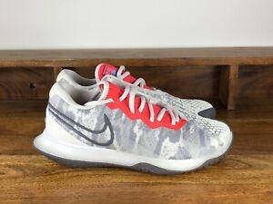 Women's Nike Court Air Zoom Vapor Cage 4 Tennis Shoe Grey CD0431-004 Size 6.5