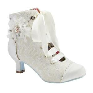 Details zu Ladies Joe Browns Couture Hitched Boot Shoes Wedding Shoes Quirky Vintage Retro
