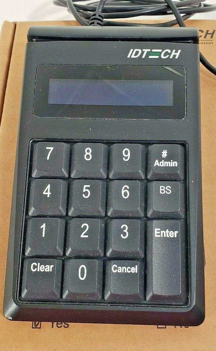 5 PACK  IDTECH IDKE-534833abe Secure Key M130 Keypad// MagStripe Card Reader