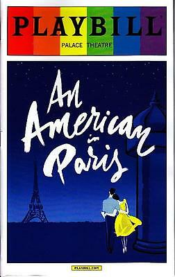 AN AMERICAN IN PARIS GAY PRIDE PLAYBILL NEW YORK CITY BROADWAY JUNE 2015 LIMITED