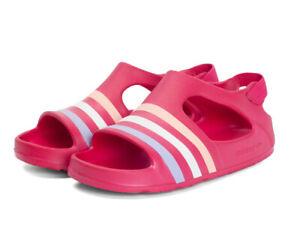 Dettagli su Adidas Adilette Gioco i Bambini Sandali BA7134 Ciabatte da Bagno Ragazzo Scarpe