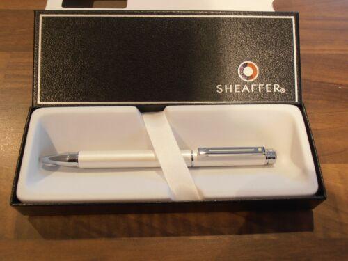 Sheaffer 200 Ballpoint pen White /& Chrome Brand new in presentation case