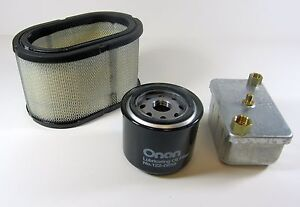 Onan Genuine Factory Tune Up Filter Kit For Rv Diesel