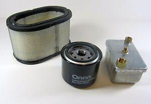 Rv Diesel Generator >> Details About Onan Genuine Factory Tune Up Filter Kit For Rv Diesel Generator Hdkaj Hdkah A L