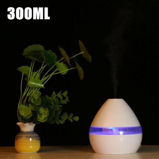 Elektrischer Diffusor für ätherische Öle Luftbefeuchter Aroma Aromatherapie LED/'