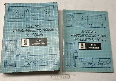 1984 Oldsmobile Electrical Troubleshooting Manual Wiring ...