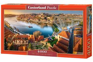 "Brand New Castorland Puzzle 4000 THE LAST SUN ON PORTO 54"" x 27"" C-400232"