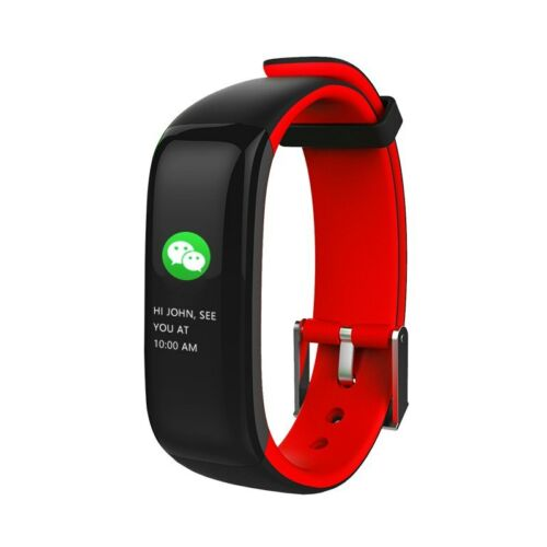 Fitbit Smart Band Heart Rate Blood Pressure Sleep Color Display Wristband NEW