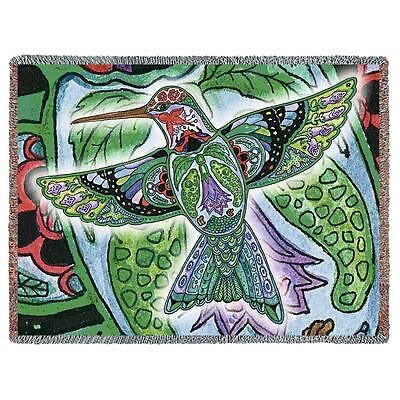 70x53 FROG Native American Southwest Tapestry Afghan Throw Blanket