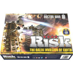 Risk Doctor Who L'invasion Dalek du jeu de société Terre 689851716782