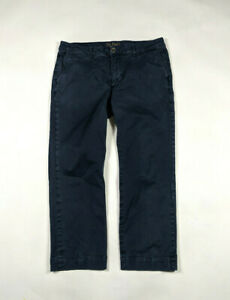 DL1961-Mens-The-Kent-Casual-Straight-Chino-Size-36-X-28-Ditmar-Navy-Pants