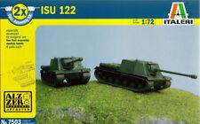 Italeri 1/72 (20mm) ISU-122S (2 x Fast Assembly Kit)