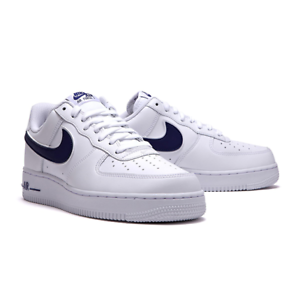 Nike-Men-039-s-Air-Force-1-07-3-Low-leather-White-Red-AO2423-103-Size-5-12