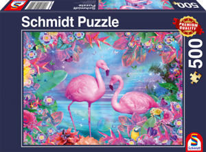 Flamingos-Schmidt-Premium-Fantasy-Jigsaw-Puzzle-500-pces-58342
