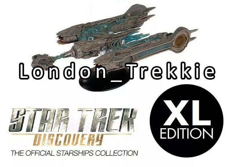 Eaglemoss Star Trek Discovery - XL XL XL Edition - Sarcophagus Ship (30CM) IN STOCK aea568