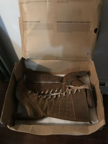 AUTHENTIC ORIGINAL TIMBERLAND 87337 BROWN LEATHER