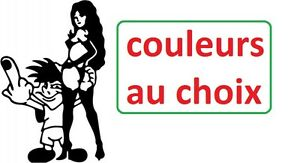 stickers sticker bad boy avec femme auto,moto tuning-taille couleur o choix