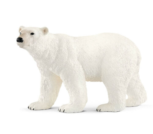 Schleich 14800 Polar Bear Wild Animal Model Toy Figurine 2018 NIP