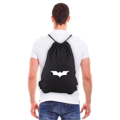 Batman Begins The Dark Knight Eco-friendly Reusable Canvas Draw String Bag