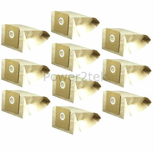 10 x E67 Poussière Sacs Pour Morphy Richards 73136 aspirateur NEUF