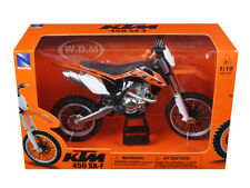 KTM 450 SX-F 1/10 DIECAST MOTORCYCLE MODEL BY NEW RAY 57623