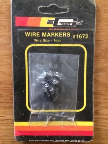 Junta #1672 marcadores de cable 7MM SR