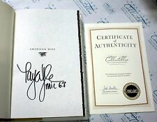 Taya Kelly SIGNED Book American Wife Autographed Hardcover - American Sniper