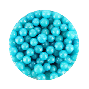 20G 6mm PEARLY LIGHT BLUE EDIBLE CACHOUS PEARLS