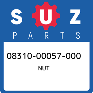 08310-00057-000-Suzuki-Nut-0831000057000-New-Genuine-OEM-Part