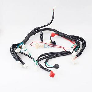 chinese atv utv quad 4 wheeler electrics wiring harness 50cc 70cc image is loading chinese atv utv quad 4 wheeler electrics wiring