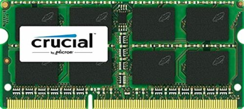Crucial 8GB Single DDR3L 1600 MT//s SODIMM 204-Pin Memory CT102464 Brand NEw