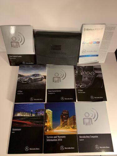 2016 Mercedes-Benz C-Class Sedan Wagon C300 C350 C400 C450 C63 AMG Owners Manual