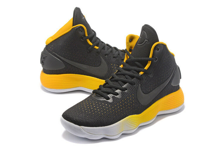 Size 18 18 18 Nike Hyperdunk Style No. 897660-003 2017 Black Yellow NEW 5acdb0
