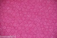 Snow Friends SWIRL 100%  cotton fabric by the YARD PINK swirls Christmas fabric