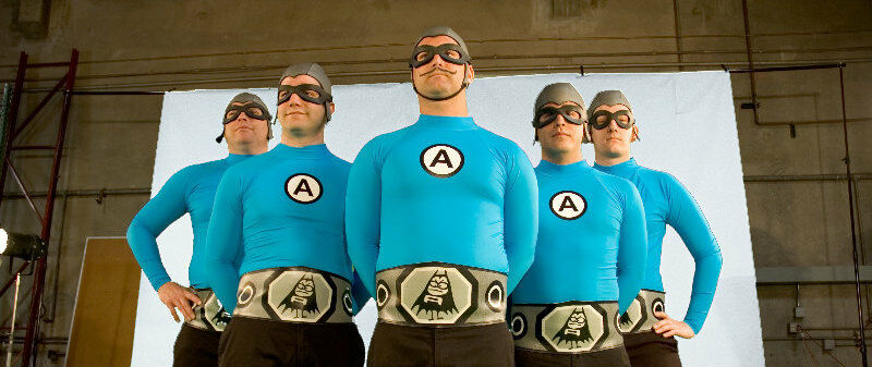 PARKING PASSES ONLY Aquabats