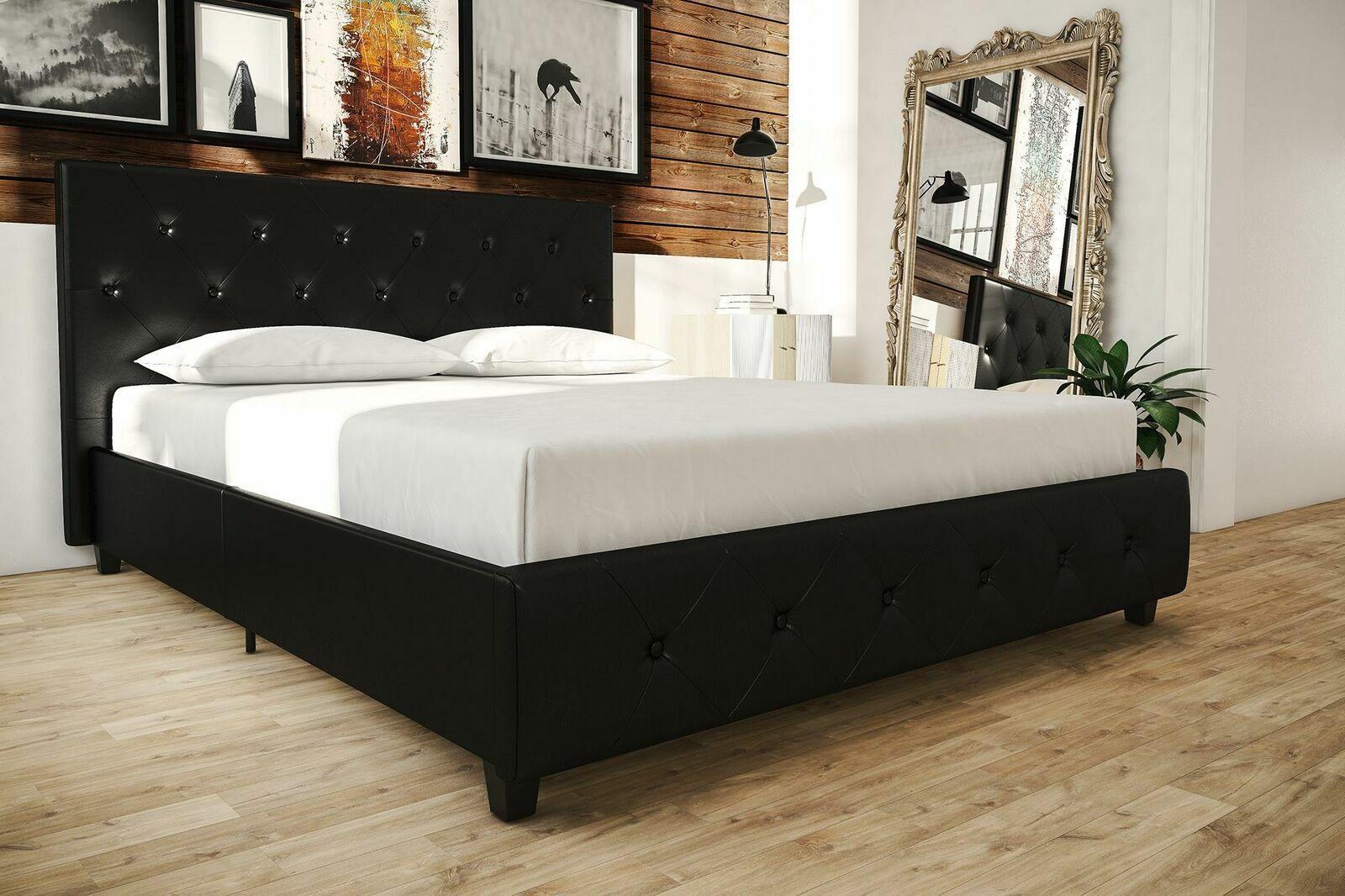Coaster Tufted Headboard King Upholstered Bed For Sale Online Ebay