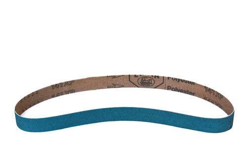 60 Grit, 10 Pack 1-1//8-Inch x 21-Inch Zirconia Abrasive Belt