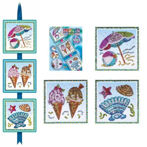 KSG Sequin Art Seasons  Paillettenbild Sommer 1418
