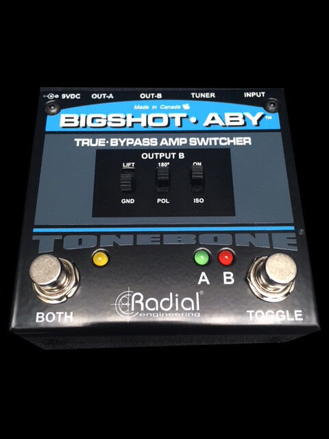 Radial BigShot ABY Passive Amp Switcher Selector Pedal