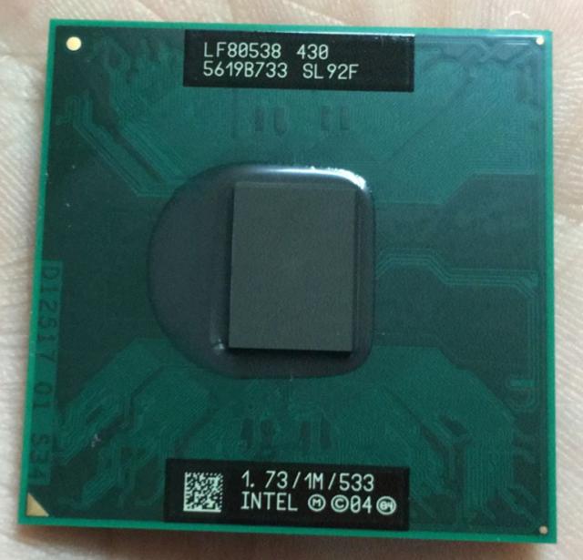 Intel Celeron M 430 CM430 SL9KV SL92F 1.73GHz 1M LF80538NE0301M LF80538NE0301ME