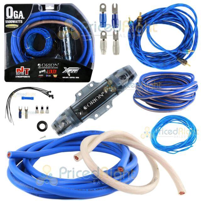 orion xtrcopperkit0 xtr 0 gauge amp kit 100 copper ebay rh ebay com