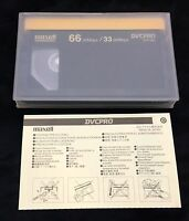 Maxell Dvcpro Dvp-66l Digital Video Cassette Tape Free Shipping Quantity