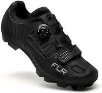 FLR F-75 Pro Comp - Mountain Bike / Cycling SPD Shoes - Black