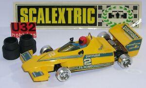 Scalextric Exin C-4056 Brabham Bt46 F1 #2 Parmalat Jaune Excellent Etat