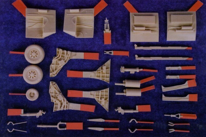 Mk.I Design MA4803 1  48 F -22 Raptor Detail Up Pkonsts Set B för akademin