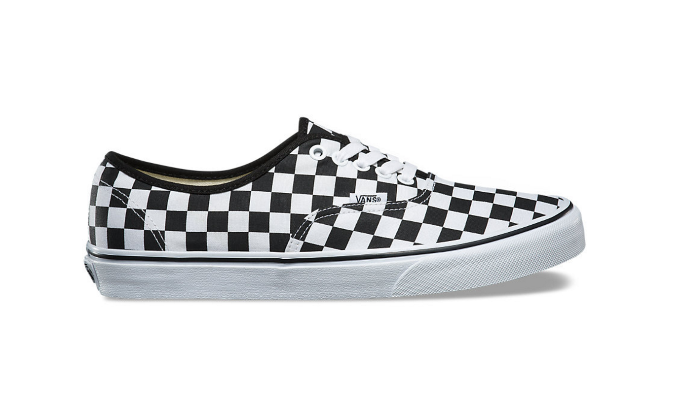 8f745abf49d2ed ... New Vans Authentic Checkerboard Checkered Black Black Black White Era Shoes  Size 10.5 bf8f74 ...